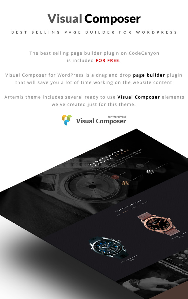 Artemis WooCommerce WordPress Template Visual Composer