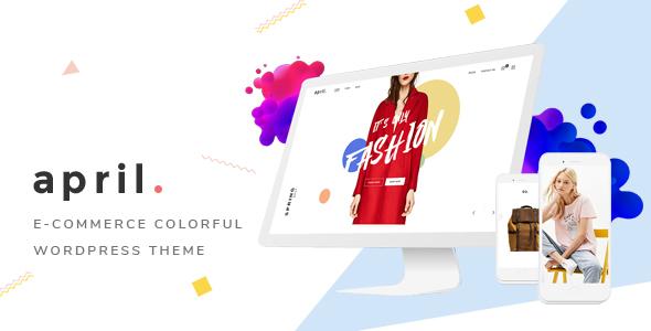 Wordpress Shop Template APRIL - Wonderful Fashion WooCommerce WordPress Theme