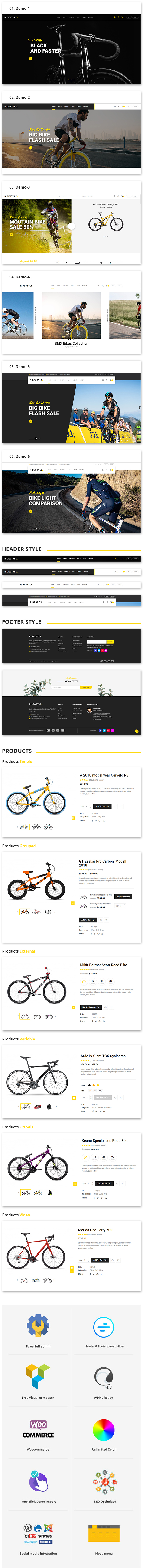 Ridestyle - Sport WooCommerce Layout - 3