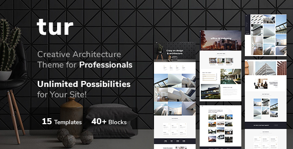 Wordpress Kreativ Template Architecture / Interior Design - Architecture / Interior WordPress for Architecture