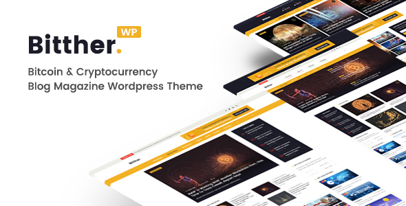 Wordpress Blog Template Bitther - Magazine and Blog WordPress Theme