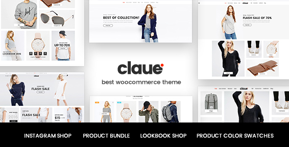 Wordpress Shop Template Claue - Clean, Minimal WooCommerce Theme
