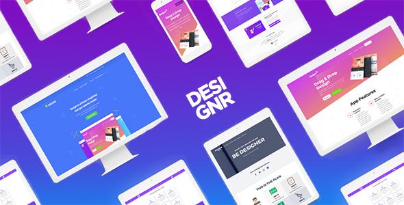 Wordpress Kreativ Template Designr - Ultimate Multi-Purpose Responsive Theme