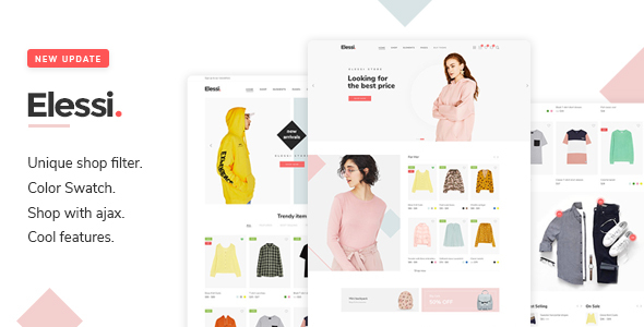 Wordpress Shop Template Elessi - WooCommerce AJAX WordPress Theme - RTL support