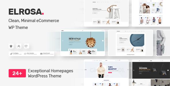 Wordpress Shop Template Elrosa - Multi-Purpose WooCommerce Theme