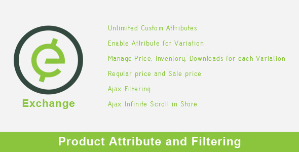 Wordpress E-Commerce Plugin Exchange - Product Attribute and Filtering
