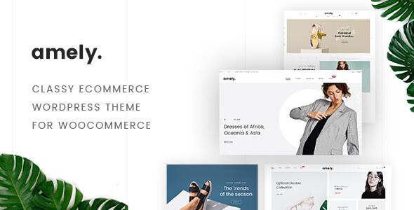 Wordpress Shop Template Fashion Amely - Fashion Shop WordPress Theme for WooCommerce