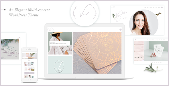 Wordpress Kreativ Template Kanna - An Elegant Multi-concept WordPress Theme