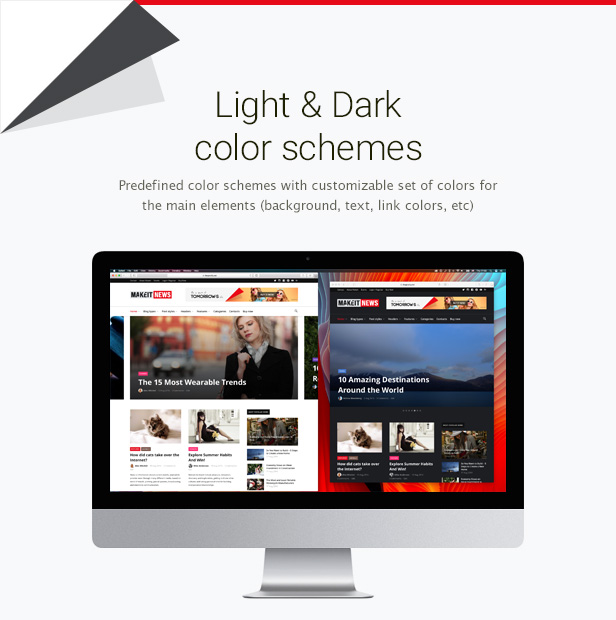 Wordpress Blog Template MakeIt - Blog & Magazine WordPress Theme