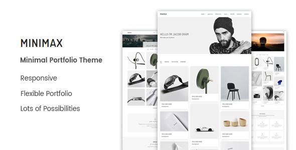 Wordpress Kreativ Template Minimax - Minimal Portfolio WordPress Theme