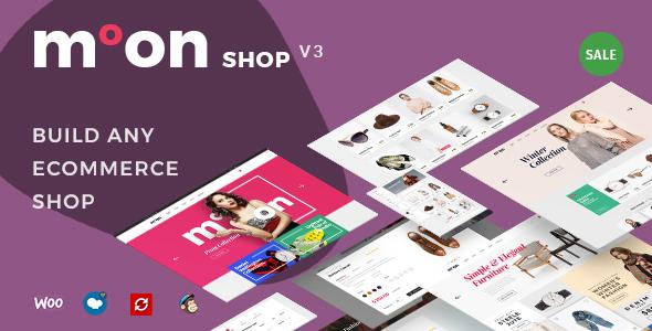 Wordpress Shop Template Moon Shop - Responsive eCommerce WordPress Theme for WooCommerce