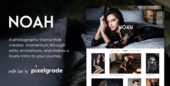 Wordpress Kreativ Template NOAH - A Witty Photography WordPress Theme