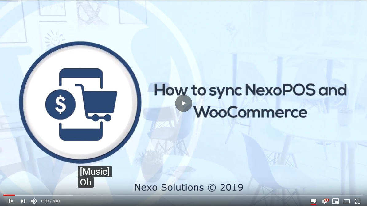Wordpress E-Commerce Plugin Nexo Store - Sync WooCommerce & NexoPOS