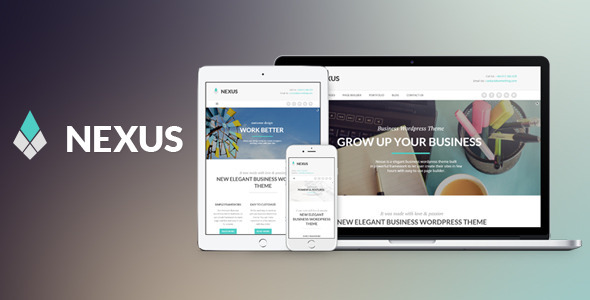 Wordpress Corporate Template Nexus - Elegant Business WordPress Theme