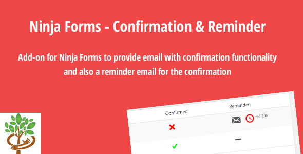 Wordpress Add-On Plugin Ninja Forms - Confirmation & Reminder