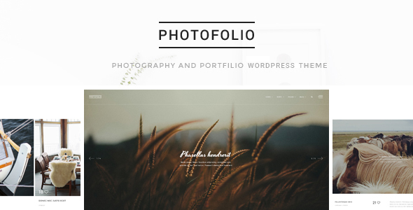Wordpress Kreativ Template Photofolio - Photography & Portfolio WordPress Theme