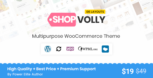 Wordpress Shop Template ShopVolly - Multipurpose WooCommerce Theme