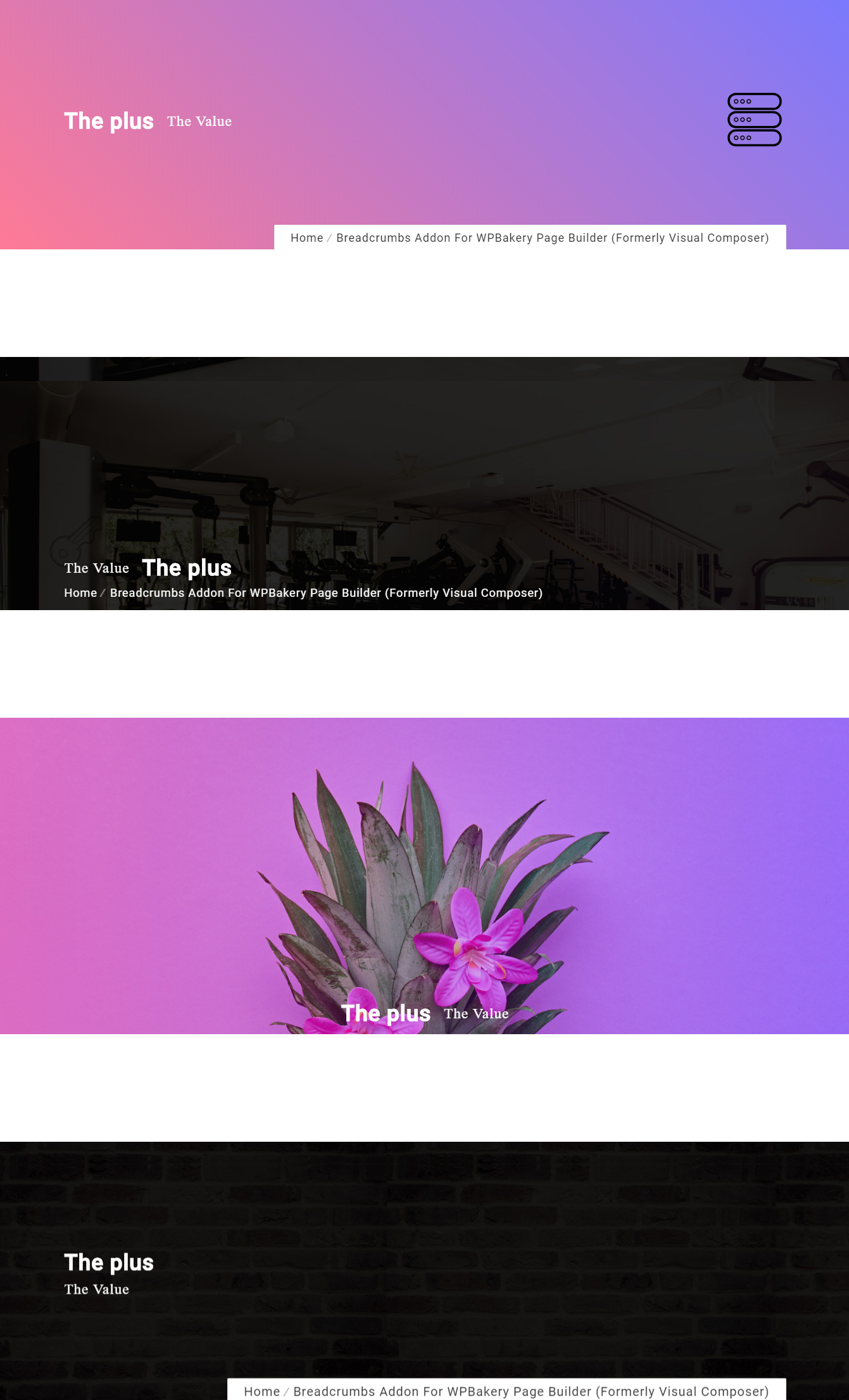 Breadcrumbs-Addon für WPBakery Page Builder (früher Visual Composer) - 5