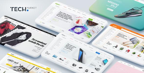 Wordpress Shop Template Techmarket - Multi-demo & Electronics Store WooCommerce Theme