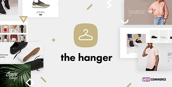 Wordpress Shop Template The Hanger - Versatile eCommerce WordPress Theme for WooCommerce