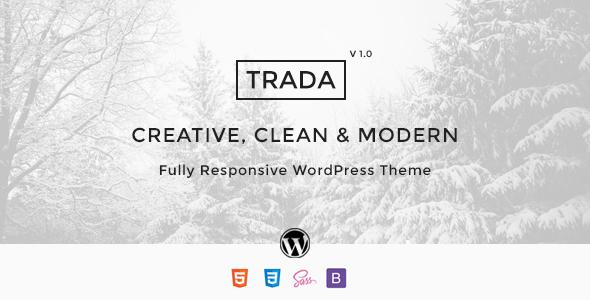 Wordpress Kreativ Template Trada - Creative Agency Multipurpose Theme