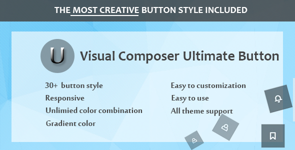 Wordpress Add-On Plugin Visual Composer - Ultimate Button
