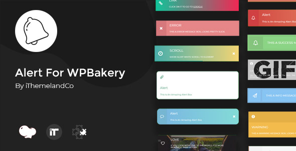 Wordpress Add-On Plugin Alert For WPBakery Page Builder(Visual composer)