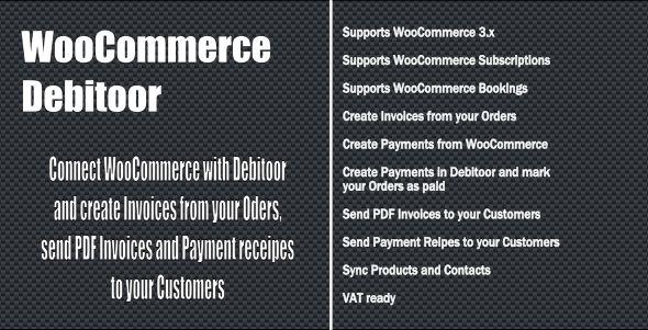 Wordpress E-Commerce Plugin WooCommerce Debitoor Connect