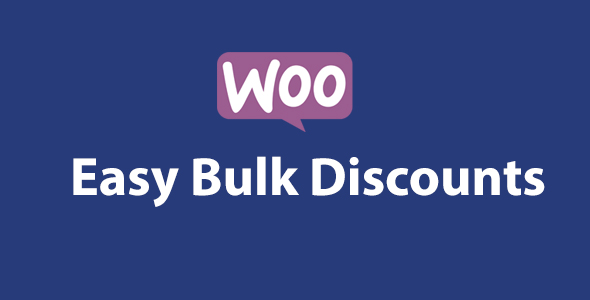 Wordpress E-Commerce Plugin Woocommerce Easy Bulk Discounts
