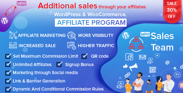 Wordpress E-Commerce Plugin WordPress & WooCommerce Affiliate Program
