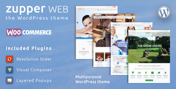 Wordpress Shop Template Zupper web – multipurpose responsive WooCommerce WordPress theme