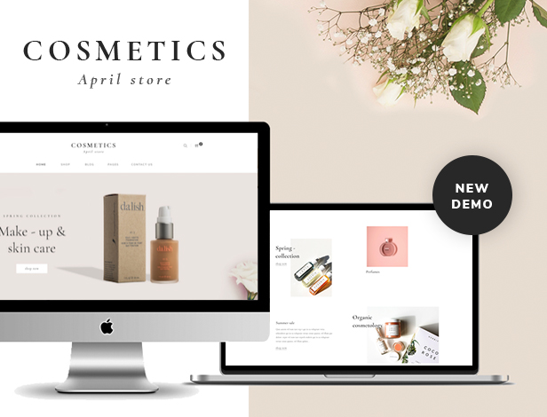 APRIL - Wunderbare Mode WooCommerce WordPress Vorlage - 12