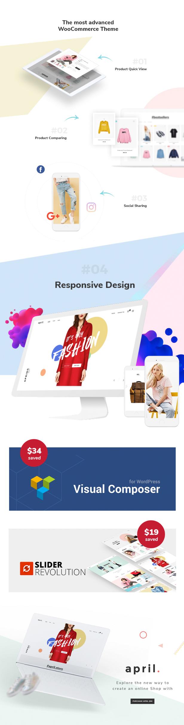APRIL - Wunderbare Mode WooCommerce WordPress Vorlage - 24