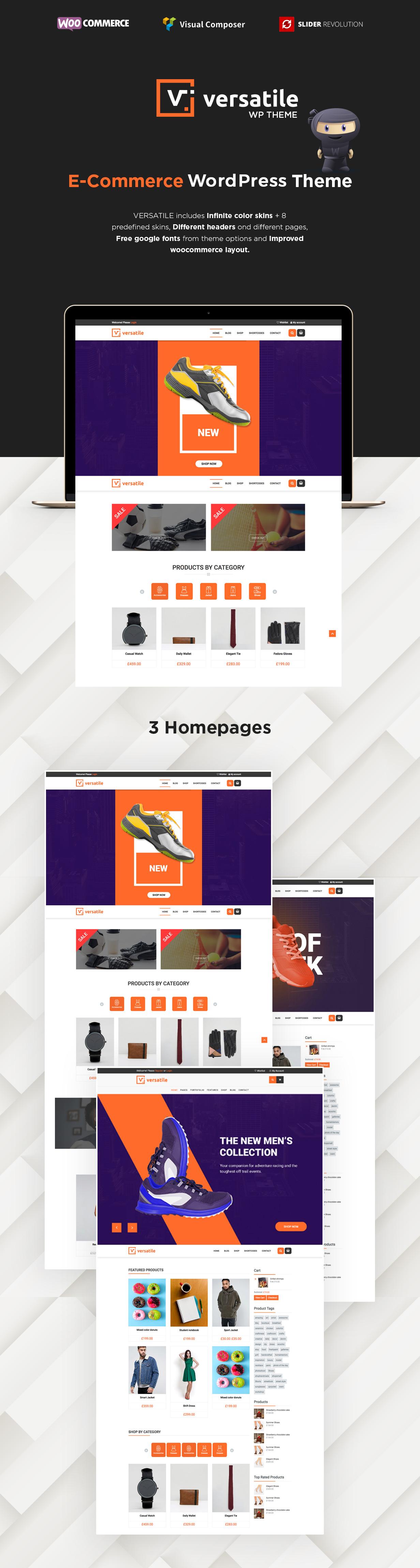 Vielseitig einsetzbar - Mehrzweck-WooCommerce-WordPress-Layout - 3