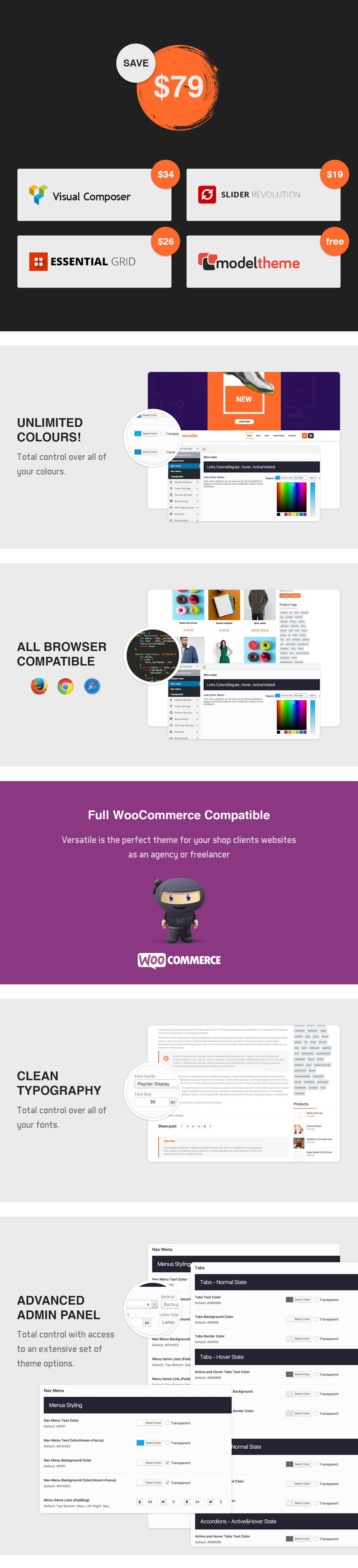 Vielseitig einsetzbar - Mehrzweck-WooCommerce-WordPress-Layout - 5
