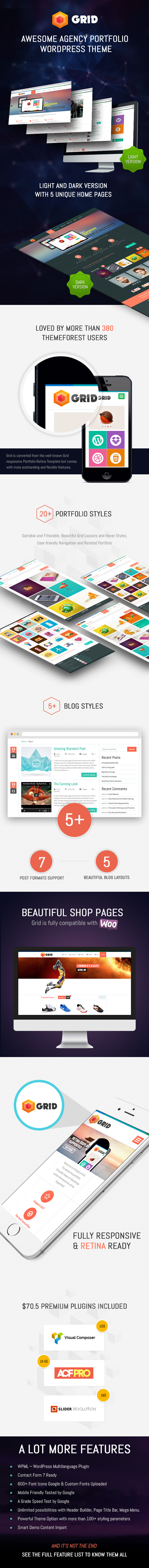 Netz - WordPress Responsive Agency Portfolio Layout - 3