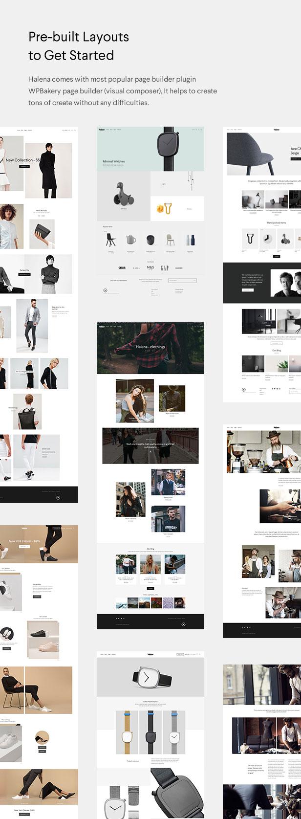 Halena | Minimales und modernes eCommerce-WordPress-Template - 3