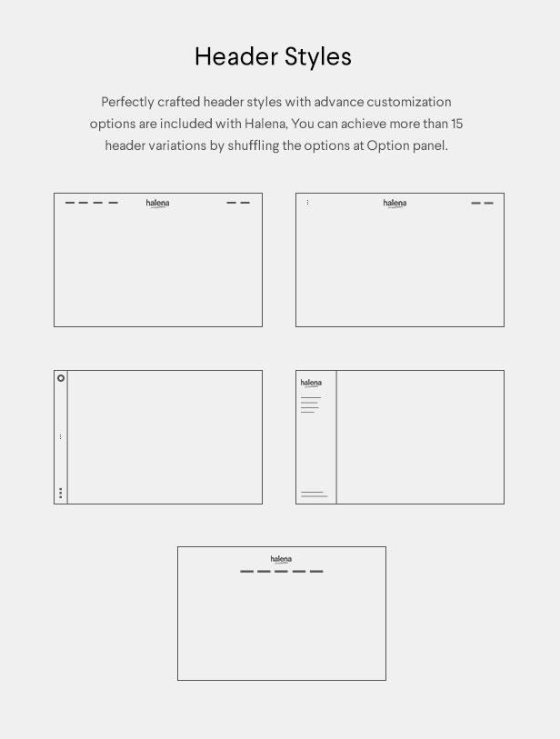 Halena | Minimales und modernes eCommerce-WordPress-Template - 12