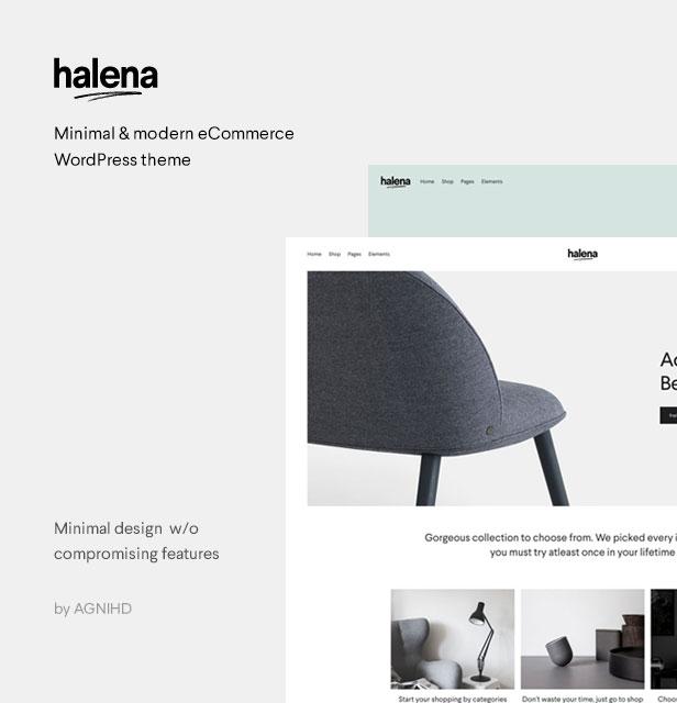 Halena | Minimales und modernes eCommerce-WordPress-Template - 2