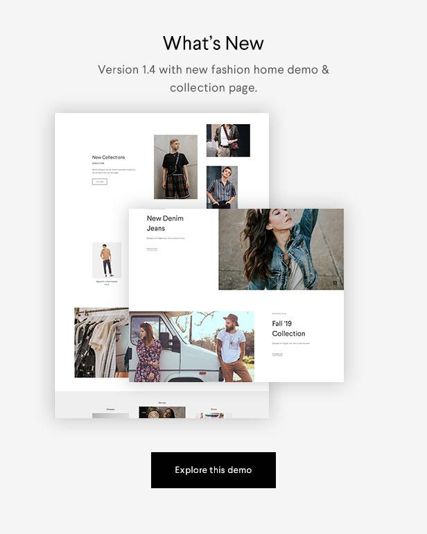 Halena | Minimales und modernes eCommerce-WordPress-Template - 1