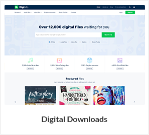 WooCommerce-Template für den digitalen Download