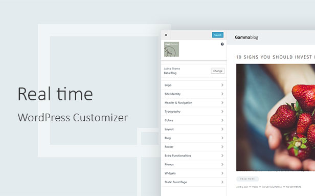 Gamma-Blog - Modernes WordPress-Blogdesign - 2