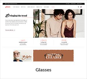 Brillen WooCommerce Store Template