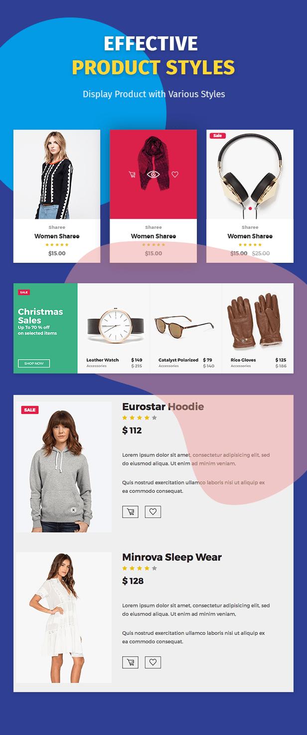 Moon Shop - Responsives eCommerce-WordPress-Template für WooCommerce - 11