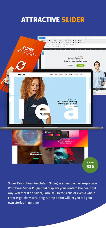 Moon Shop - Responsives E-Commerce-WordPress-Template für WooCommerce - 9