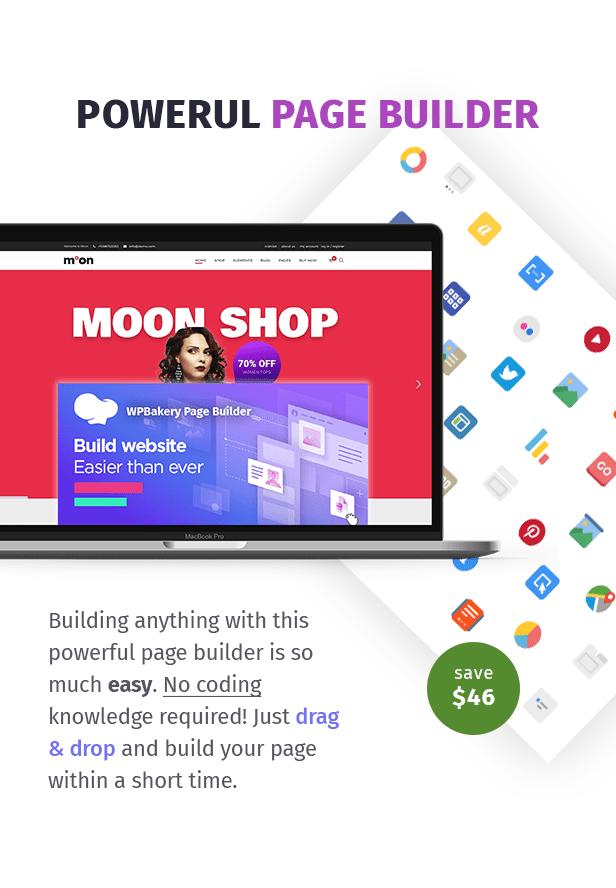 Moon Shop - Responsives eCommerce-WordPress-Template für WooCommerce - 8