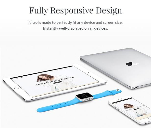 Voll funktionsfähiges Design