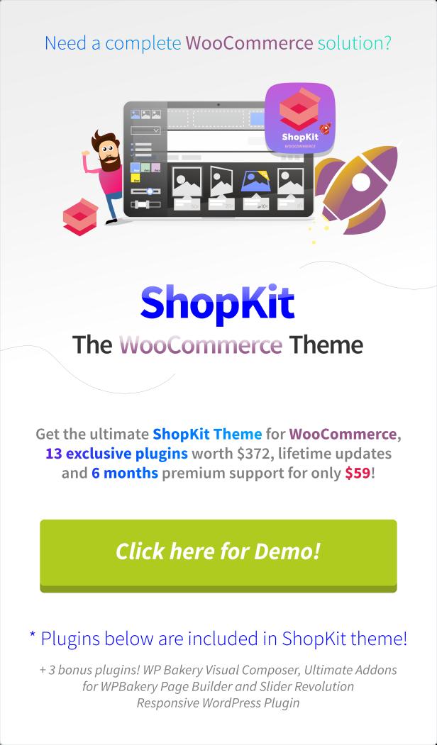 ShopKit - Das WooCommerce-Vorlage - 1
