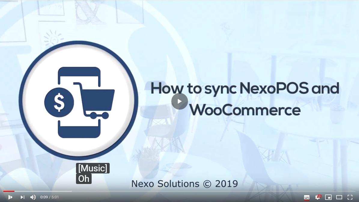 Nexo Store - Synchronisieren Sie WooCommerce und NexoPOS - 1