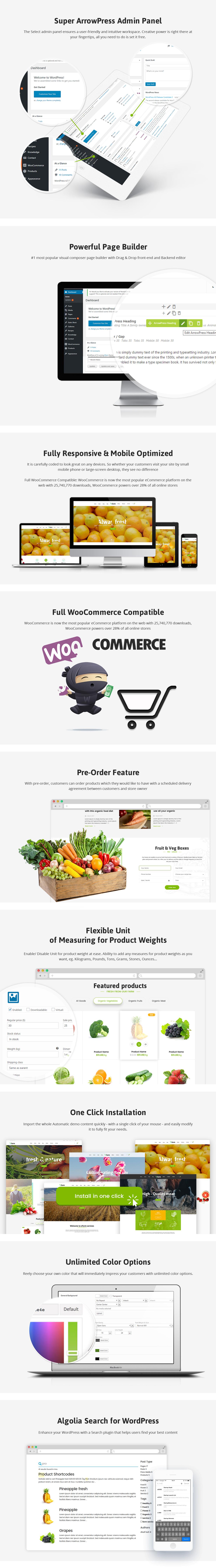 eFarm - Ein vielseitiges WordPress-Layout für Lebensmittel und Farmen - 8